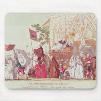 Clergy Leaving the Church after the Sale Mouse Pad