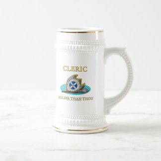 Cleric: Holier Than Thou Beer Stein