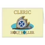 Cleric: Holy Roller Card