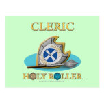 Cleric: Holy Roller Postcard