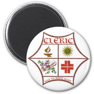 Cleric Refrigerator Magnet
