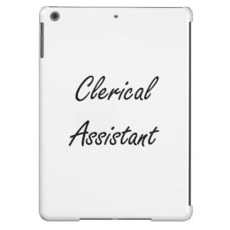 Clerical Assistant Artistic Job Design iPad Air Case