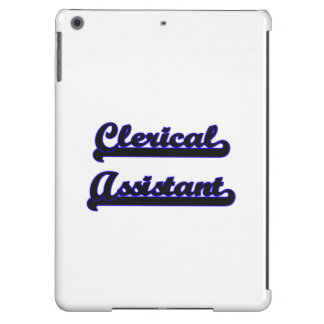 Clerical Assistant Classic Job Design Case For iPad Air