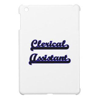 Clerical Assistant Classic Job Design Cover For The iPad Mini