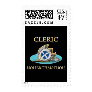 Clérigo: Más santo que mil Timbres Postales