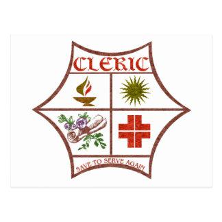 Clérigo Postales
