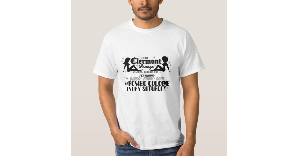 clermont lounge romeo cologne t shirt zazzle. Black Bedroom Furniture Sets. Home Design Ideas
