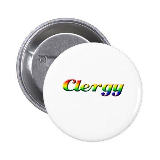 clero - arco iris pin redondo 5 cm