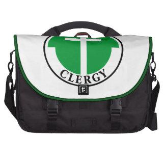Clero en verde bolsas para ordenador