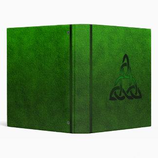 Cletic Green Vinyl Binder