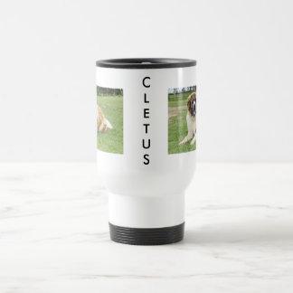 Cletus - Saint Bernard Travel Mug