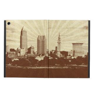 Cleve-Oh caja retra del aire del iPad del rayo de