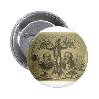 Cleveland 1884 - Thurman Pins