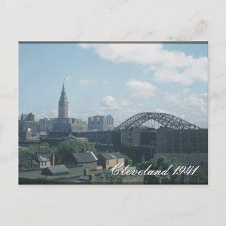 Cleveland 1941 Postcard postcard