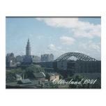 Cleveland 1941 Postcard