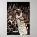 CLEVELAND - 1 DE MAYO:  LeBron James #23 del Poster