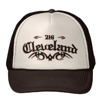 Cleveland 216 gorras de camionero