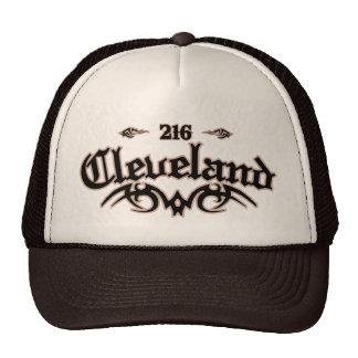 Cleveland 216 trucker hat
