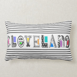 CLEVELAND 3 with Color PILLOW