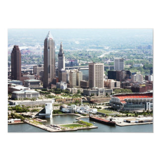 Cleveland 5x7 Note Cards Personalized Invites