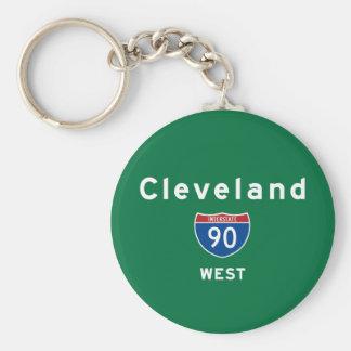 Cleveland 90 keychain
