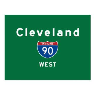 Cleveland 90 postcard