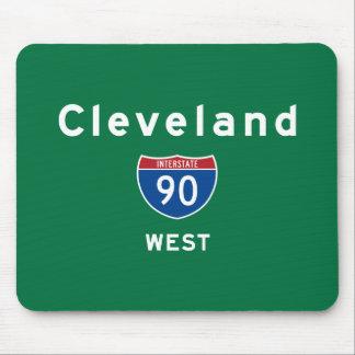 Cleveland 90 tapete de ratón