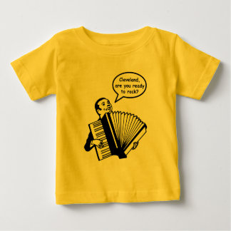 Cleveland, are you ready to rock? (Accordion) Tee Shirt