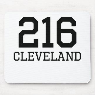 Cleveland Area Code 216 Mousepad