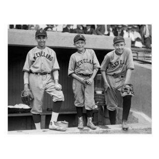 Cleveland Ball Boys, 1922 Postcard