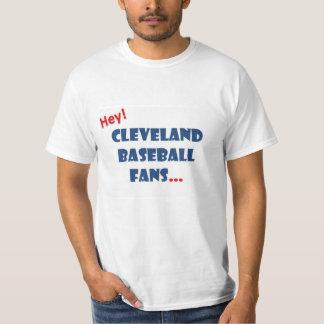 Cleveland Baseball Announcer Flowchart Shirt