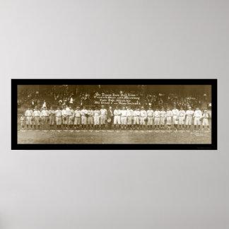 Cleveland Baseball Photo 1921 Poster