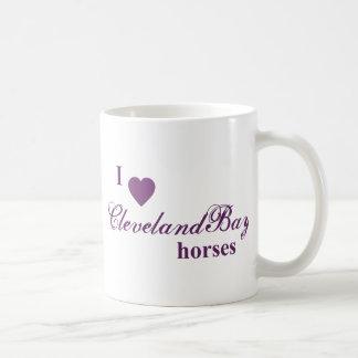 Cleveland Bay horses Coffee Mug