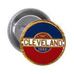 Cleveland - botón pin