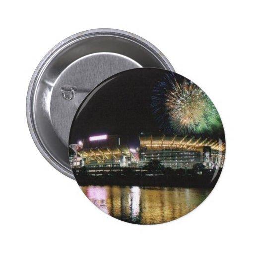 Cleveland Browns Football Stadium Firewords Pins