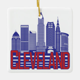 Cleveland City Colors Double-Sided Ornament