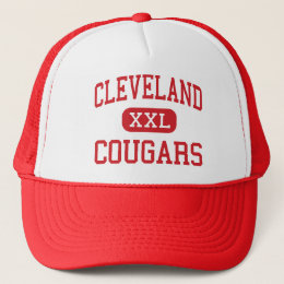 Cleveland - Cougars - Middle - Dorchester Trucker Hat
