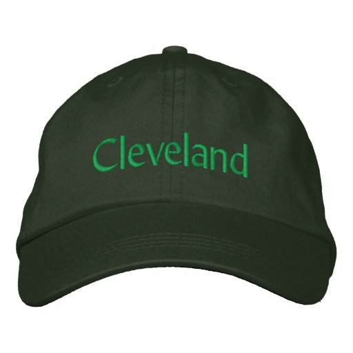 Cleveland Embroidered Baseball Cap