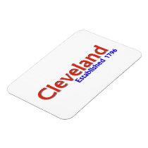 """Cleveland Established 3""""x4"""" Flexible Magnet"""