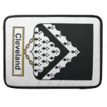Cleveland Family Crest Sleeve For MacBooks