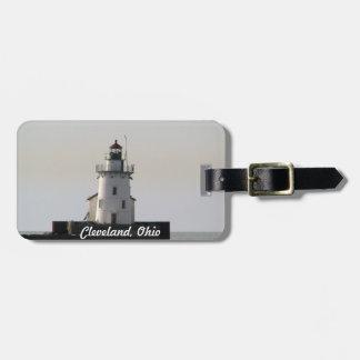 Cleveland Harbor Lighthouse Luggage Tag