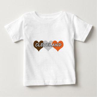 Cleveland Heart Baby T-Shirt
