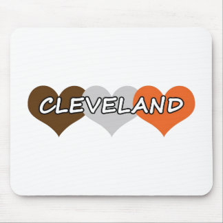 Cleveland Heart Mouse Pad