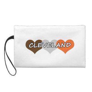 Cleveland Heart Wristlet