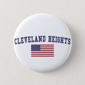 Cleveland Heights US Flag Button