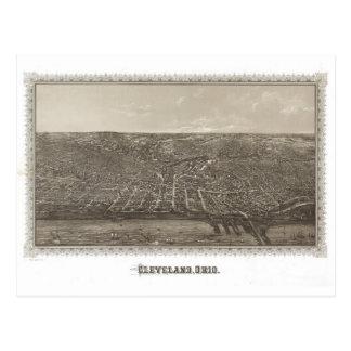 Cleveland histórica, 1887 tarjeta postal
