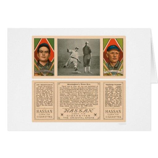Cleveland Indians Baseball 1912 Card
