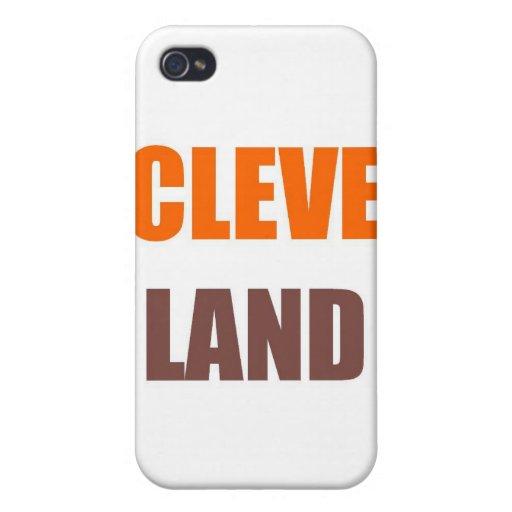 CLEVELAND iPhone 4/4S FUNDA