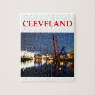 cleveland jigsaw puzzle