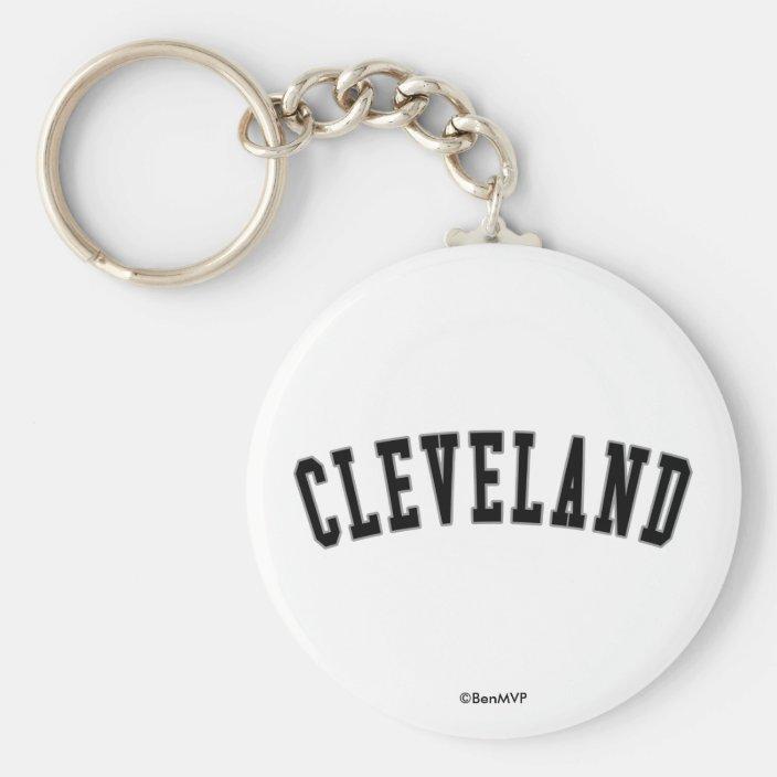 Cleveland Key Chain